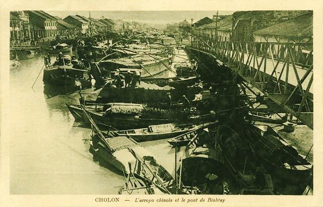 CHOLON - Cầu Chữ U qua kinh Tàu Hủ