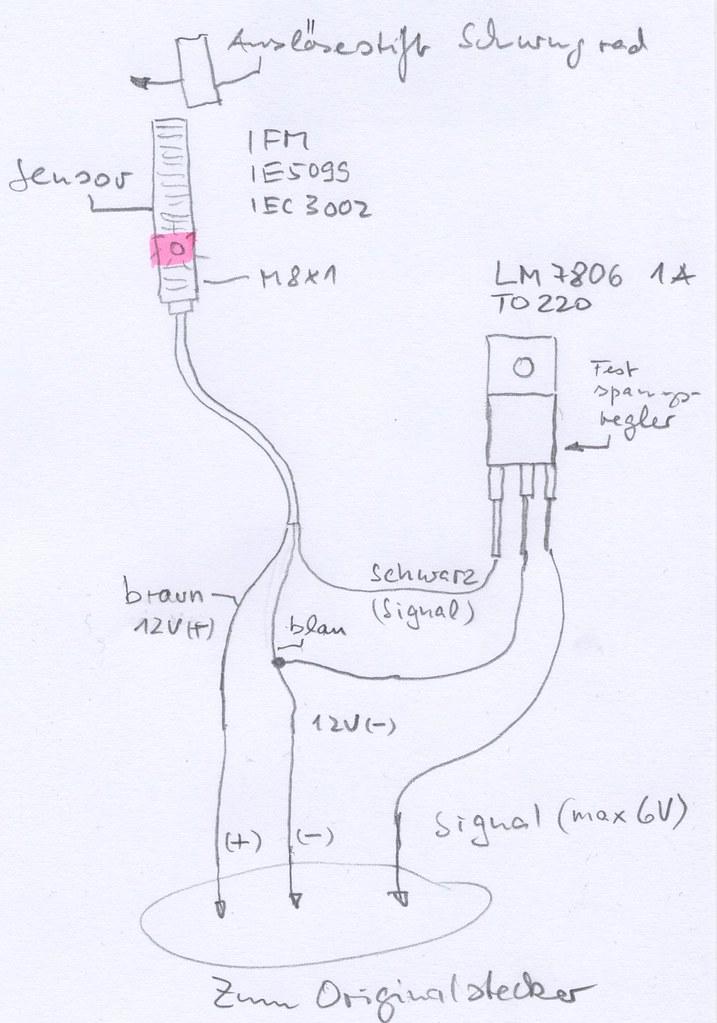 citroen visa z�ndgeber / diy citroen visa ignition sensor / capteur citroen  visa 652