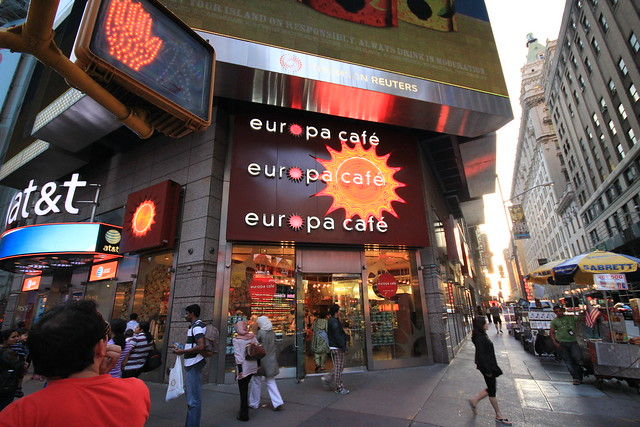 Europa Cafe Nyc Jobs