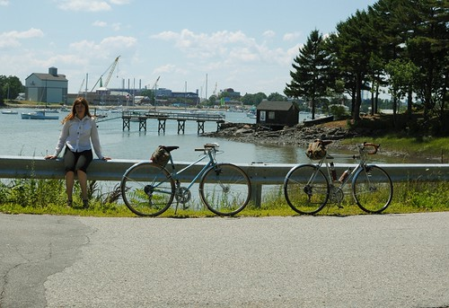His and Hers Motobecane, Southern Maine