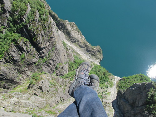Over the Edge - Preikestolen, Norway