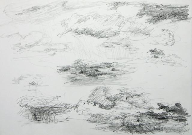 Wolken auf Rügen