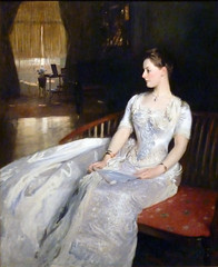 Mrs Cecil Wade by John Singer Sargent copy