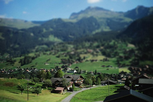 Grindelwald---mini village