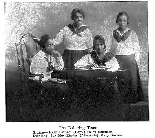 The Debating Team - December, 1920