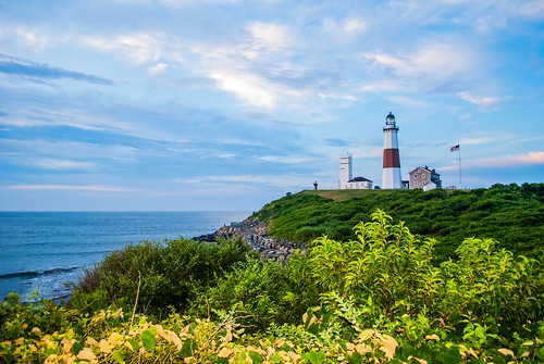 ocean new york morning light sea lighthouse house ny water digital sunrise point island early nikon long waves end 1855mm montauk nikkor the d3000 nikond3000