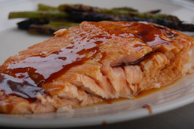 grilled salmon sensory analysis