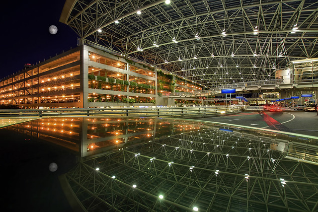 Reflection at Portland International Airport - HDR