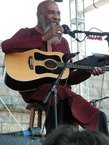 Richie Havens at Newport Folk Fest 2010