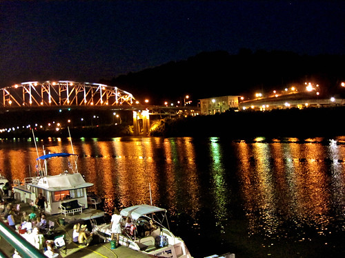 Kanawha River at Night