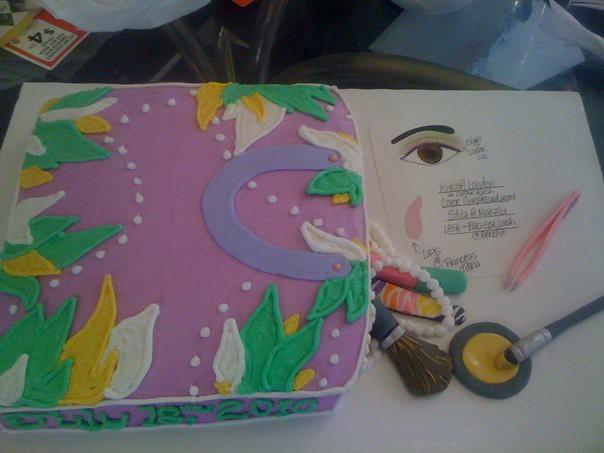 Makeup Bag Cake Images