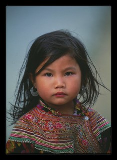 Tribe girl Laos