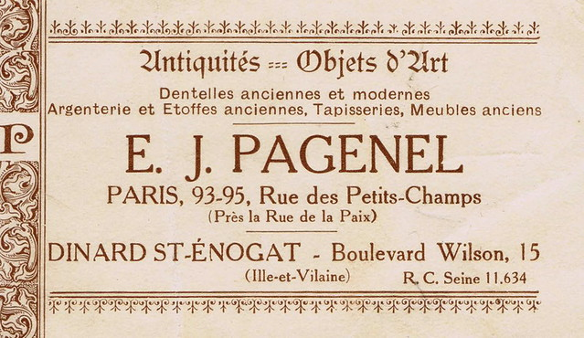 E.J. Pagenel's Business Card