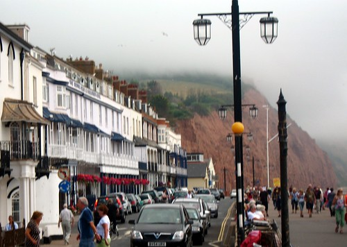The Jurassic Coast at Sidmouth