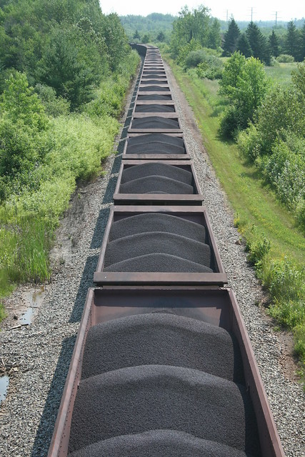 Taconite Train Enroute to Allouez, WI.