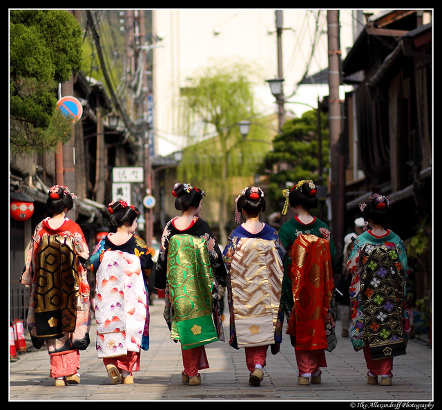 Maiko's Walking Away