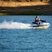 Jet skiing on Calero Reservoir