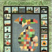 Michigan State Quilt Map Postcard by crayolamom