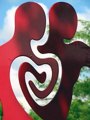 Heart Art in Puyallup, Washington