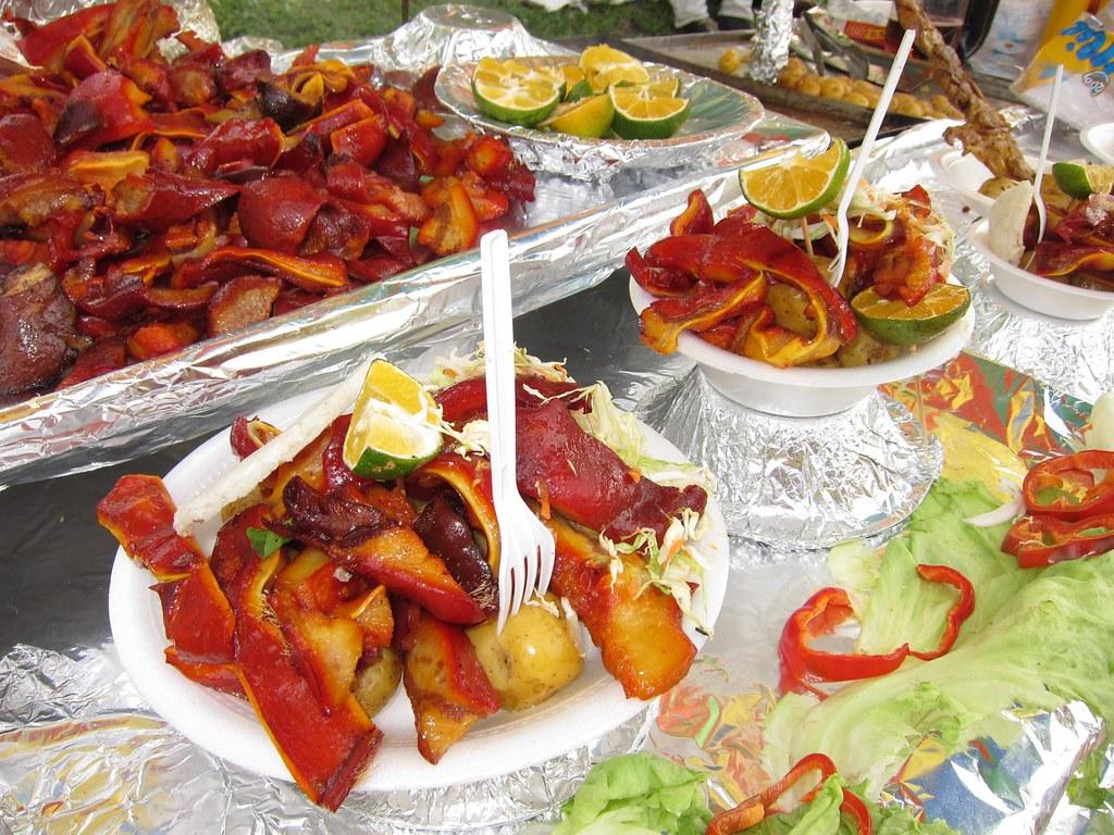 Essay street food