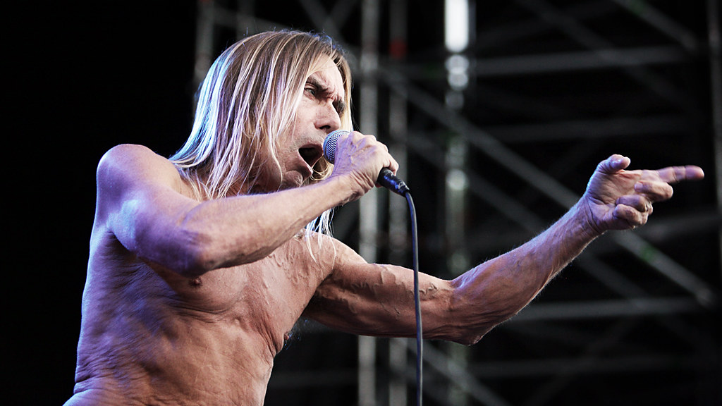 Iggy Pop & The Stooges - Øyafestivalen 2010
