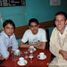 Coffee with Sharan and Rajiv in Chandigarh, India