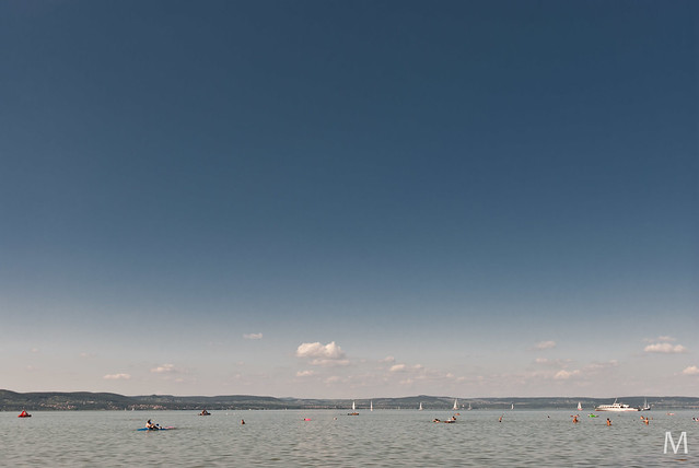 Swimming Lake Balaton