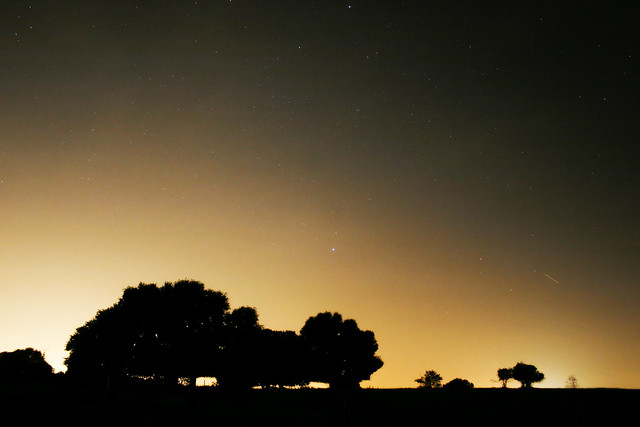 Meteor landscape