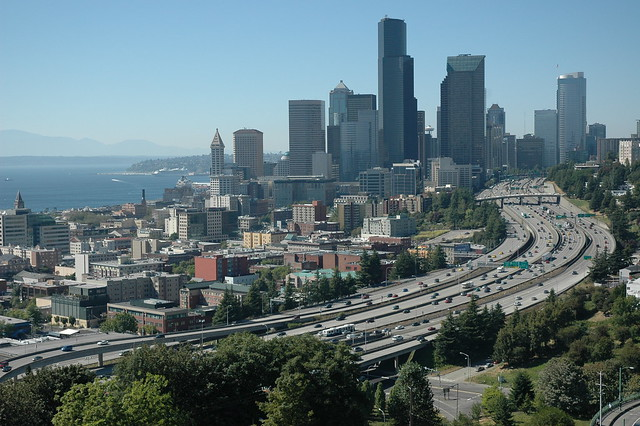 City On A Hill Our Town Seattle Washington View Of Hi