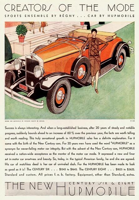 1929 Hupmobile Century Roadster