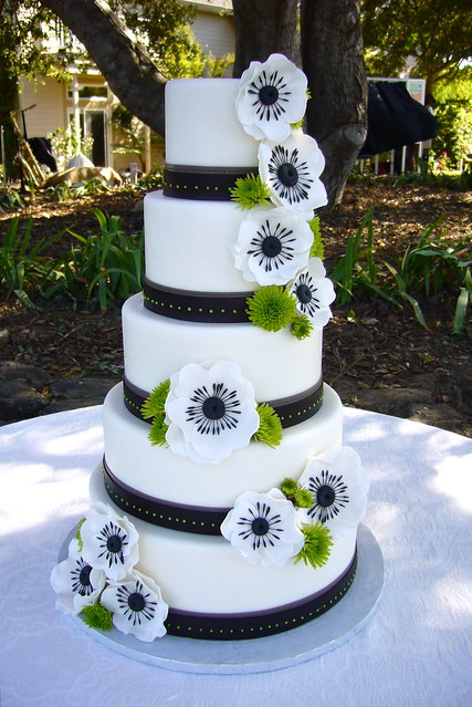 anemone wedding cake wedding cakes a gallery on flickr 10759