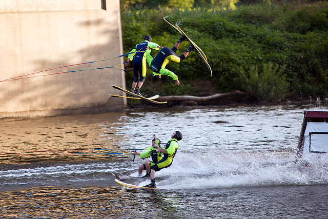U.S. Water Ski Show Team - Scotia, NY - 10, Aug - 16