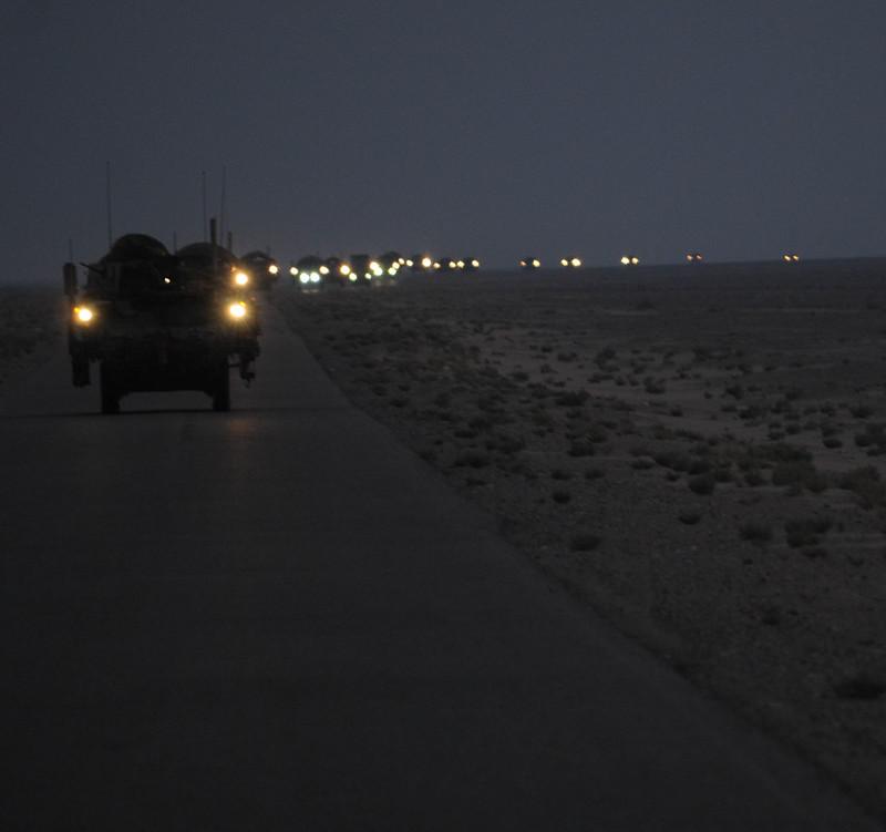 Last combat brigade leaves Iraq