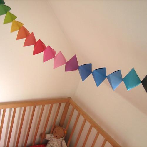 Origami Garland 'nursery' #1