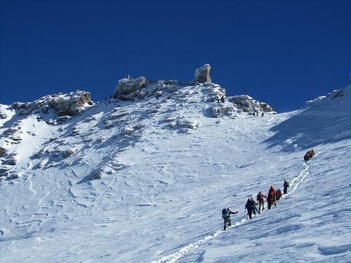 Climbing Gran Pardiso