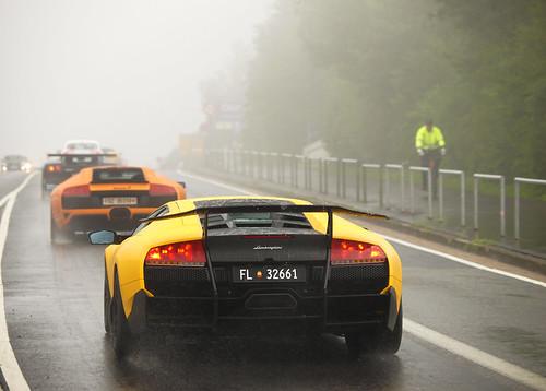 SV in the rain