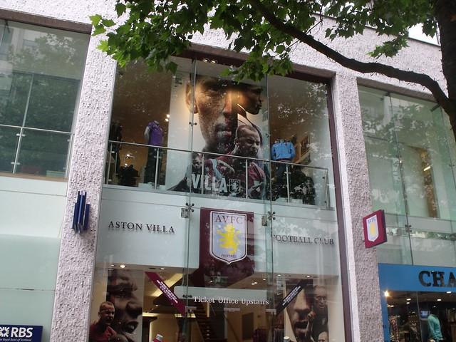 Aston Villa Shot Glass