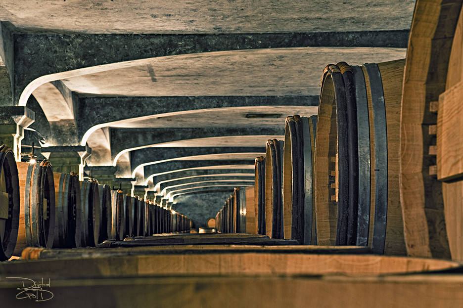 Bordeaux Wine Cave Cellar