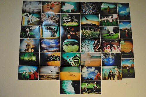 My very own LOMO wall !!!