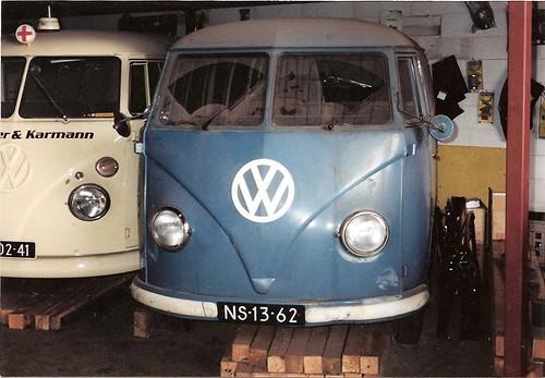 NS-13-62 Volkswagen Transporter bestelwagen 1954