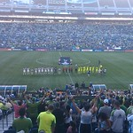 At #Sounders CONCACAF Champions League #fb