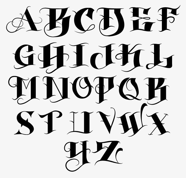 Font Creation I Have Always Wanted To Create A Font So I