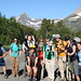 Geology Professor Kelly MacGregor took a group of students to Glacier Park, Montana, to conduct research on glaciers during the summer.