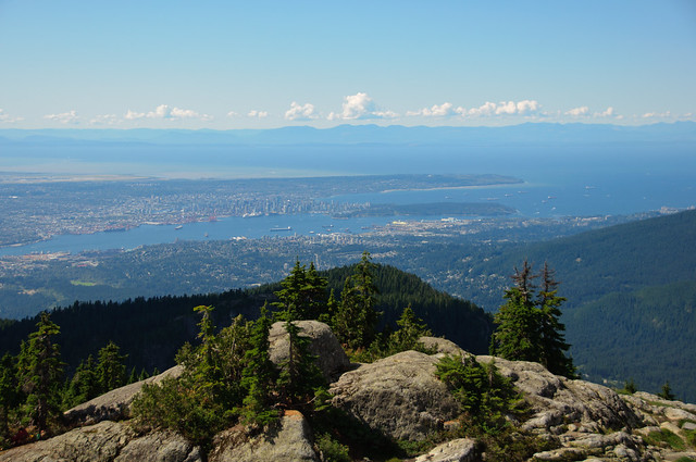 View from Mount Seymour
