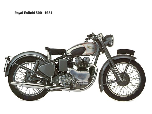 Royal Enfield 500 - 1951