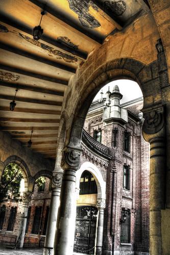 Almudena Cemetery. Detail. Madrid. Cementerio de la Almudena. Detalle