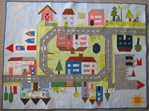 All Around the Town Quilt