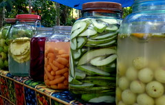 vegetable, tursu, pickling, plant, produce, food preservation, food, canning,
