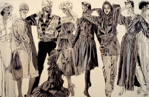 Fashion Illustration by Jim Howard