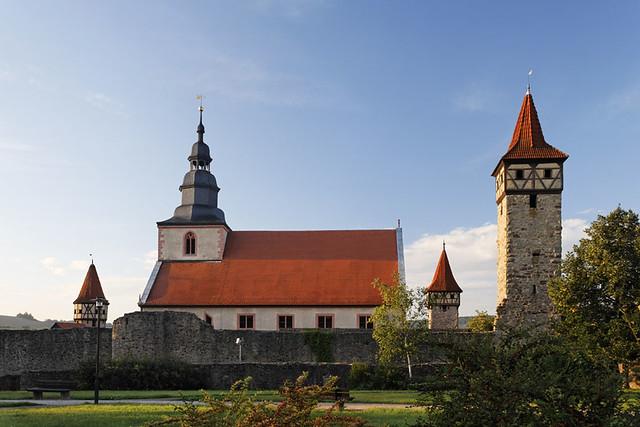 Kirchenburg in Ostheim vor der Rhön